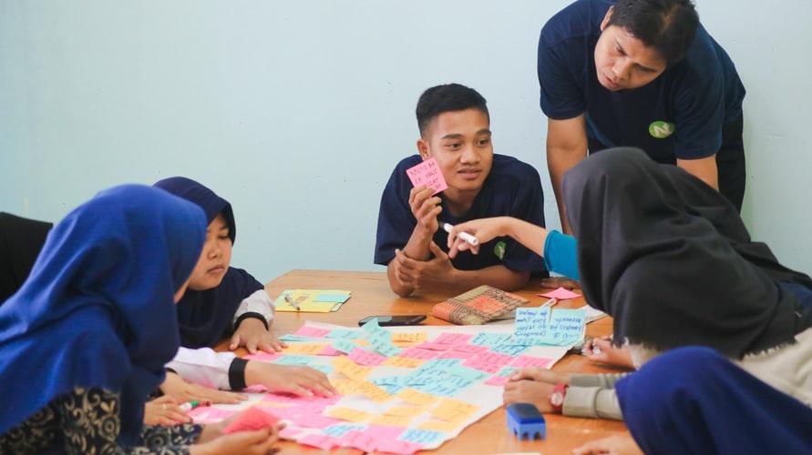 ciri ciri masyarakat demokratis Musyawarah untuk mencapai mufakat
