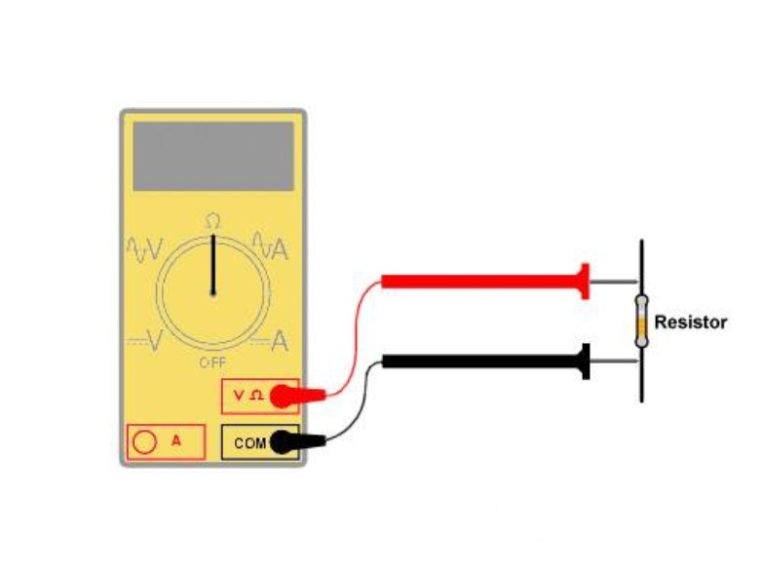 Cara ke-2 Menghitung Resistor dengan Alat Ukur