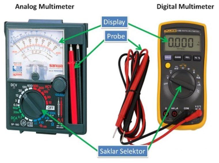 Jenis - Jenis Multimeter