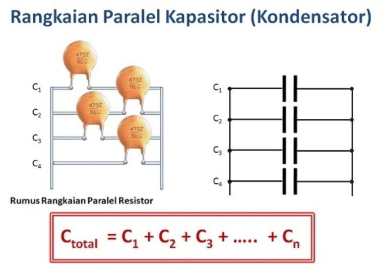 Rangkaian Paralel Kapasitor