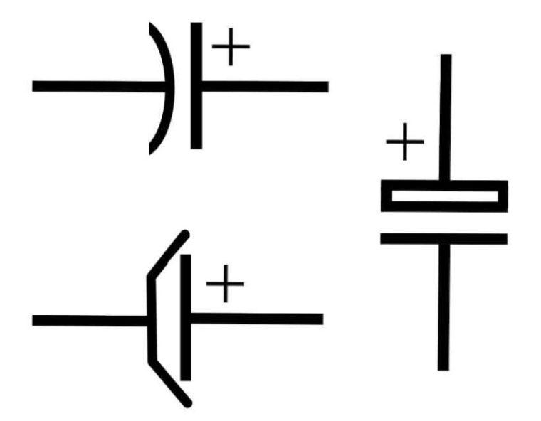 Simbol Kapasitor