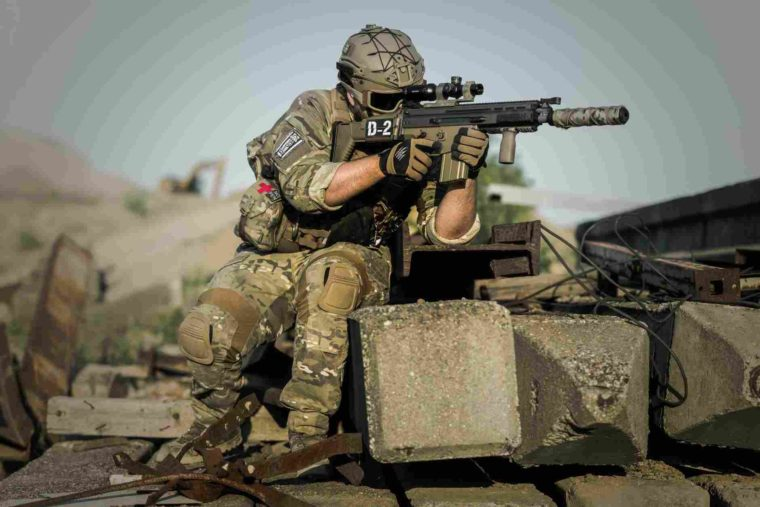 bidang pertahanan dan keamanan