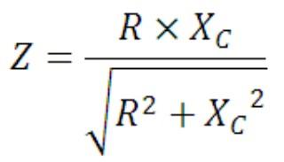 rumus nilai impedansi rangkaian paralel