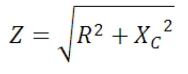 rumus nilai impedansi