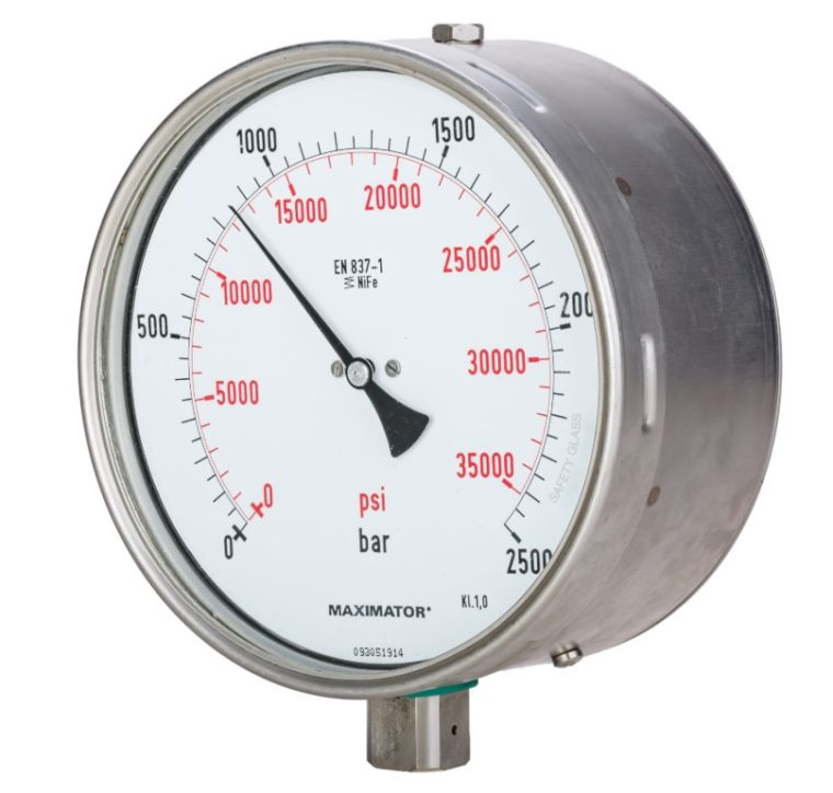 Alat Untuk Mengukur Tekanan Zat Gas