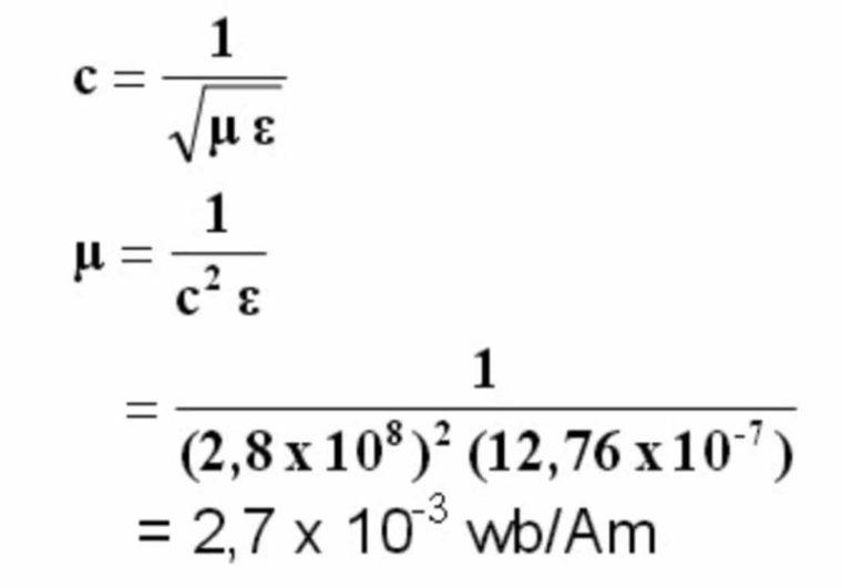 Jawaban dari Soal Gelombang Elektromagnetik