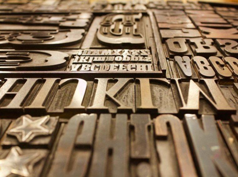 Elemen - Elemen pada Typografi