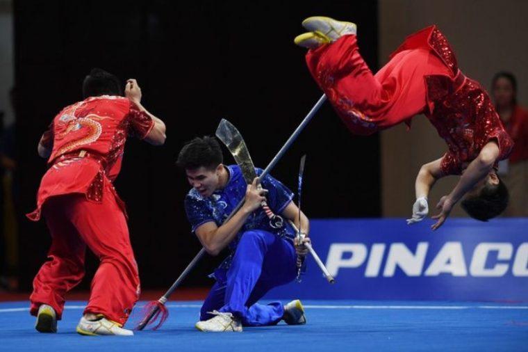 Penilaian dalam Pertandingan Wushu