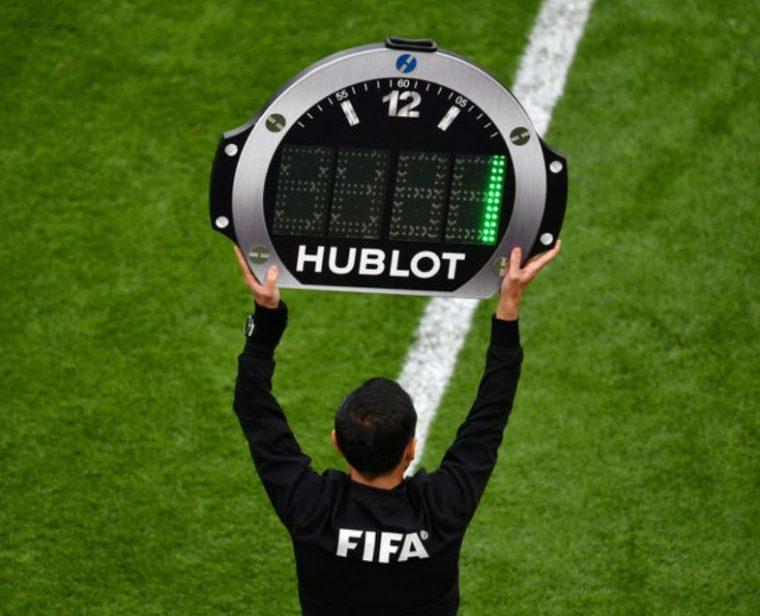 Peraturan Waktu Permainan Sepak Bola