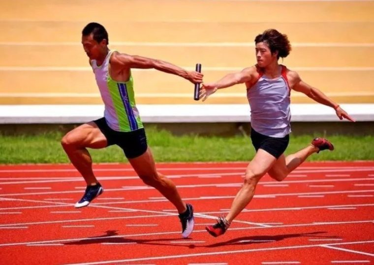 Strategi Penyusunan Lari Estafet