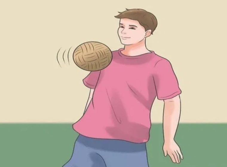 Teknik Menahan Bola Sepak Takraw