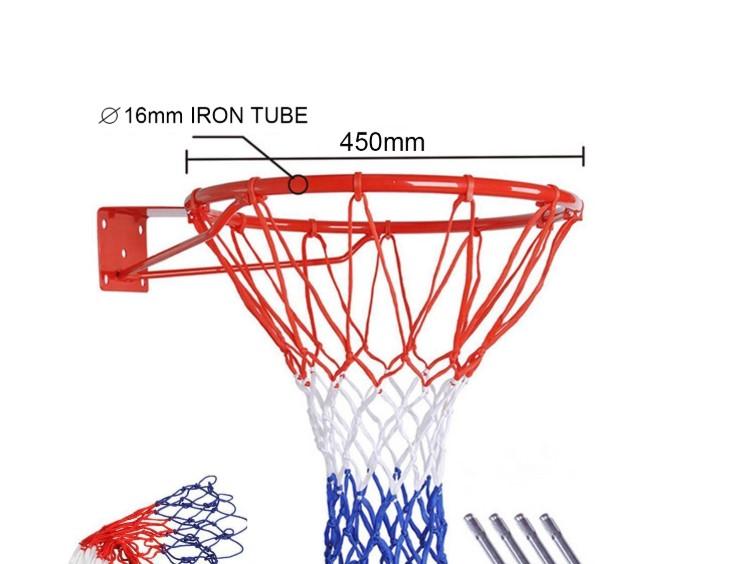 Ukuran Keranjang Bola Basket (Ring)