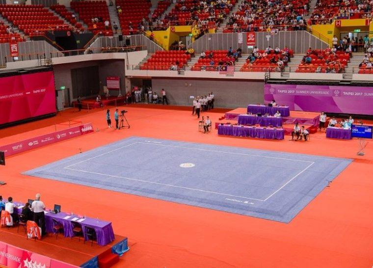 Ukuran dan Gamble Arena Wushu