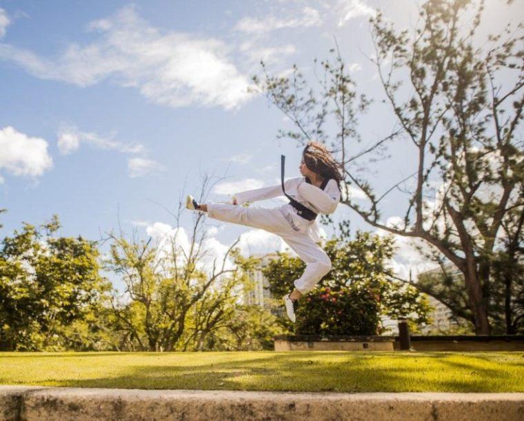 Warana Sabuk dan Jurus Taekwondo