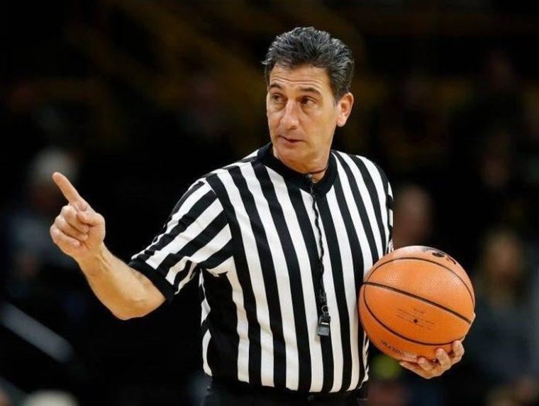 Wasit dalam Bola Basket