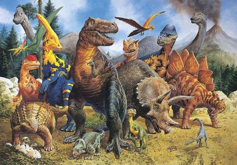 Ciri - Ciri dari Zaman Mesozoikum