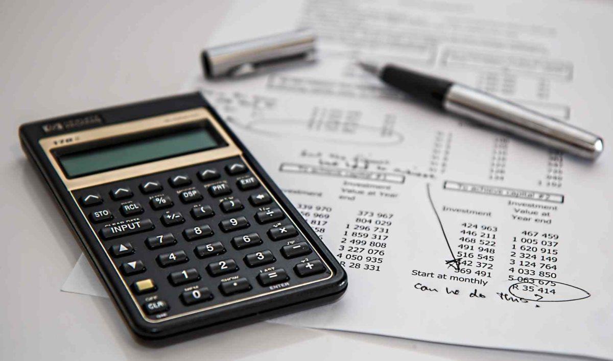 gambar kalkulator untuk mendata buku besar