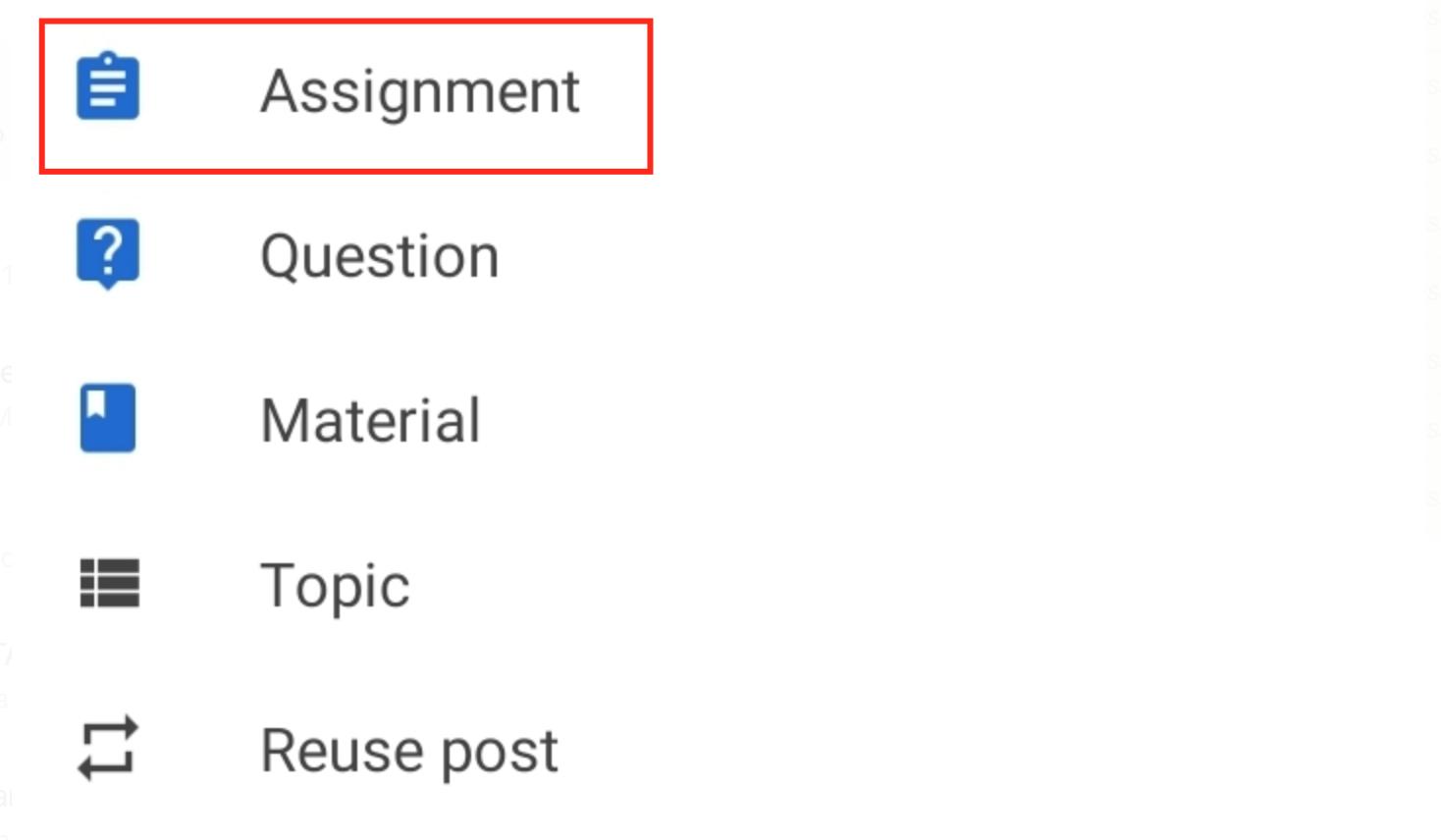 klik assigment