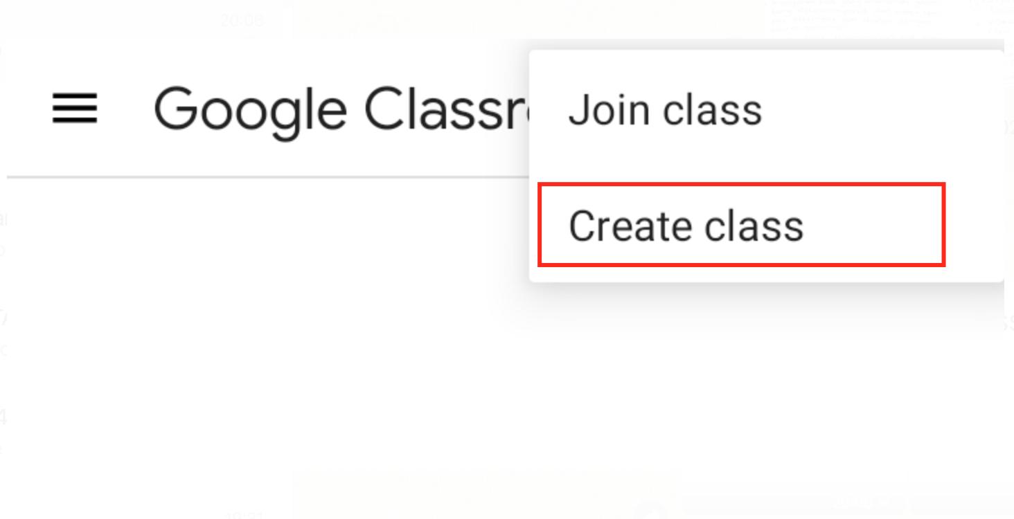 klik create class