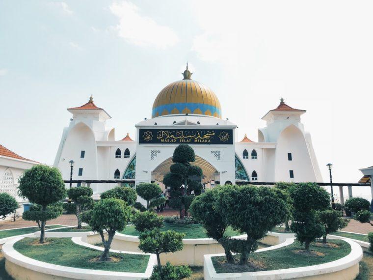 Gambar Masjid Selat Malaka