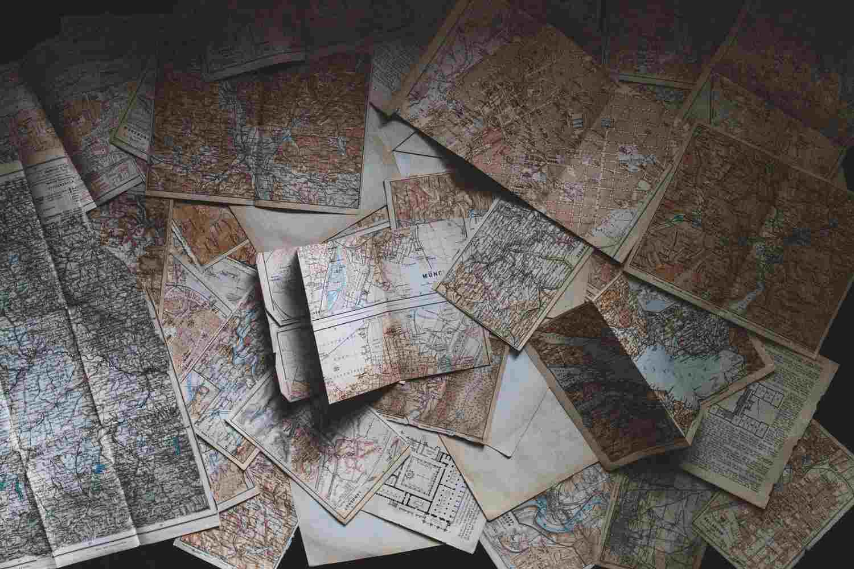 gambar jenis-jenis peta