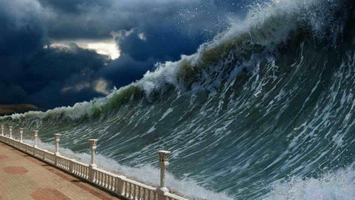 akibat gempa laut
