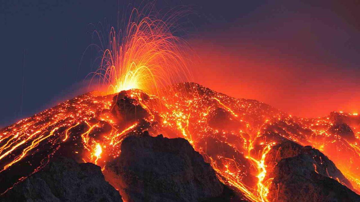 gambar vulkanisme