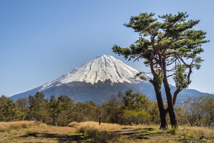 gunung tipe kerucut