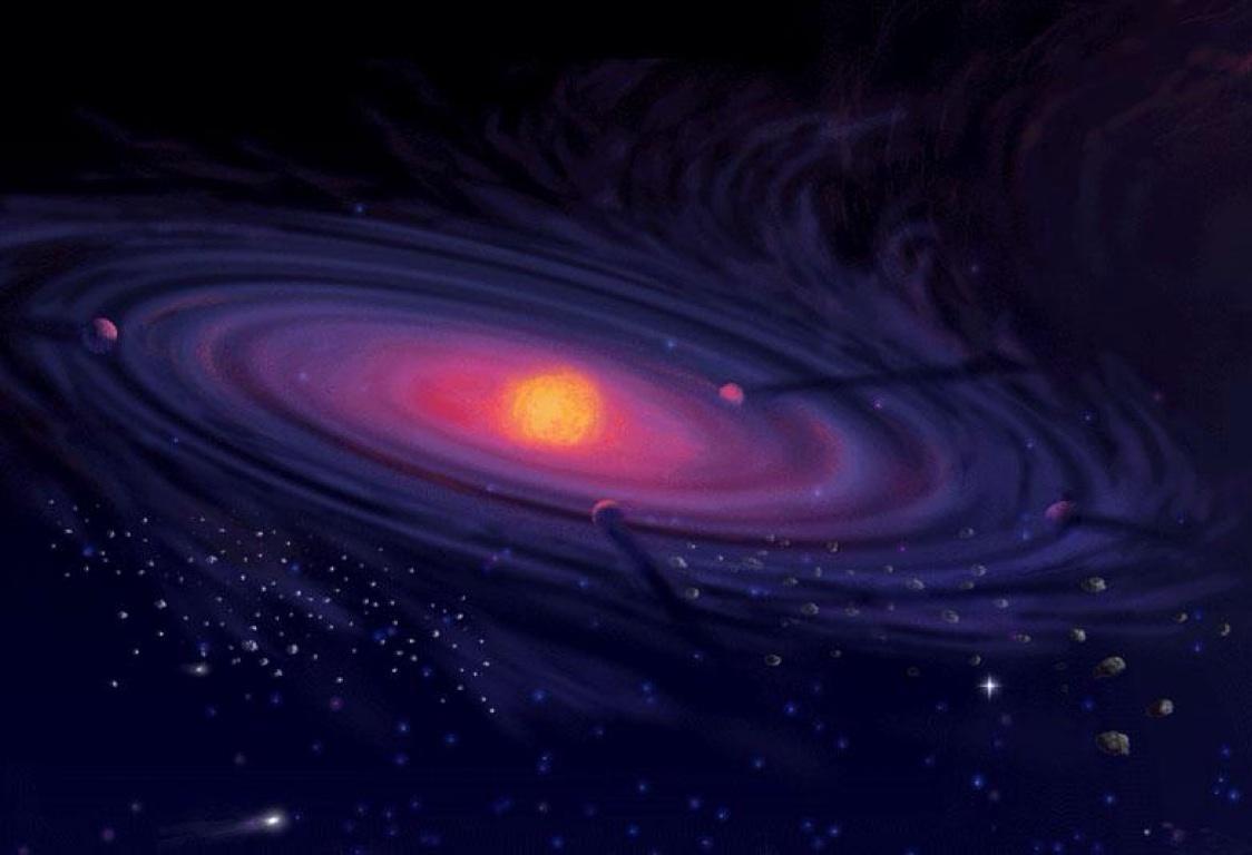 gambar teori planetesimal