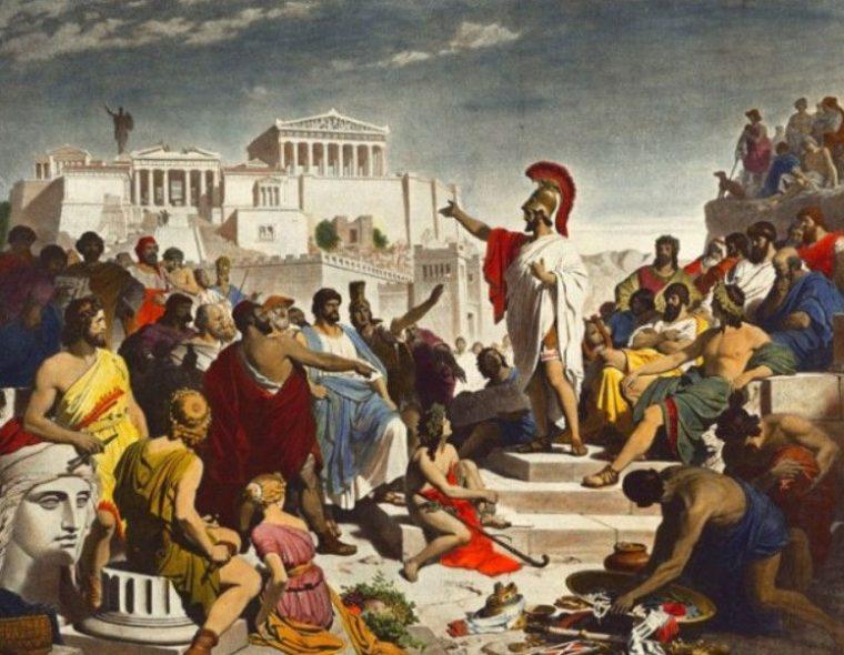 Sejarah Demokrasi di Yunani