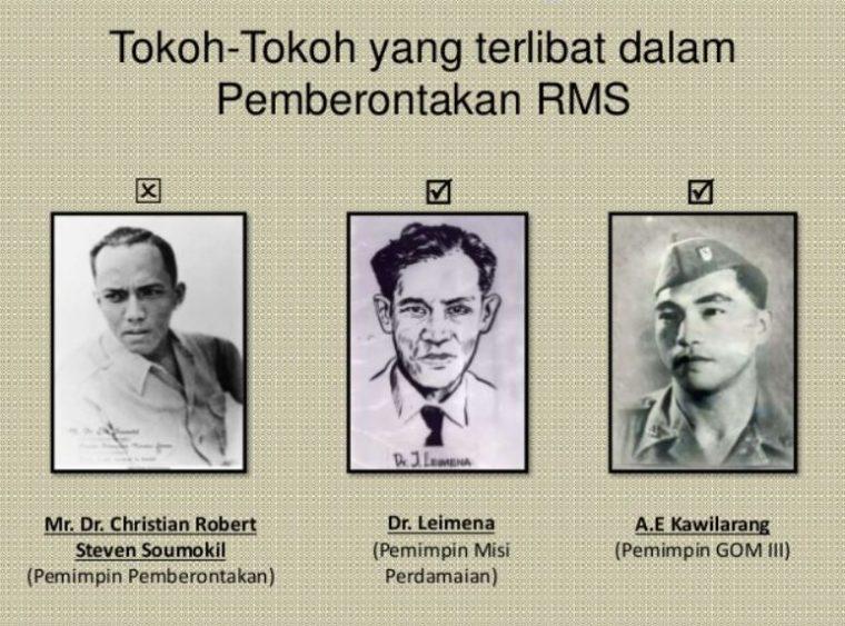 Tokoh Pemberontakan RMS