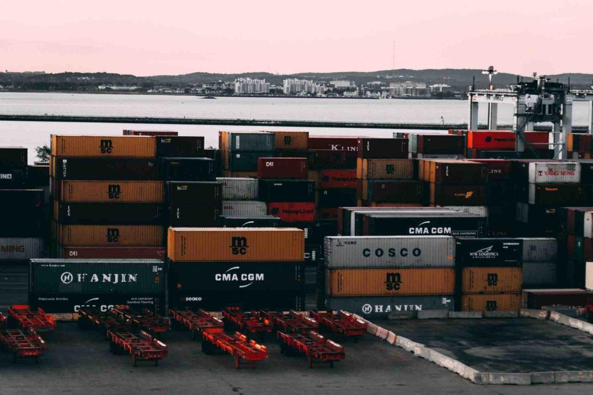 Gambar perdagangan internasional