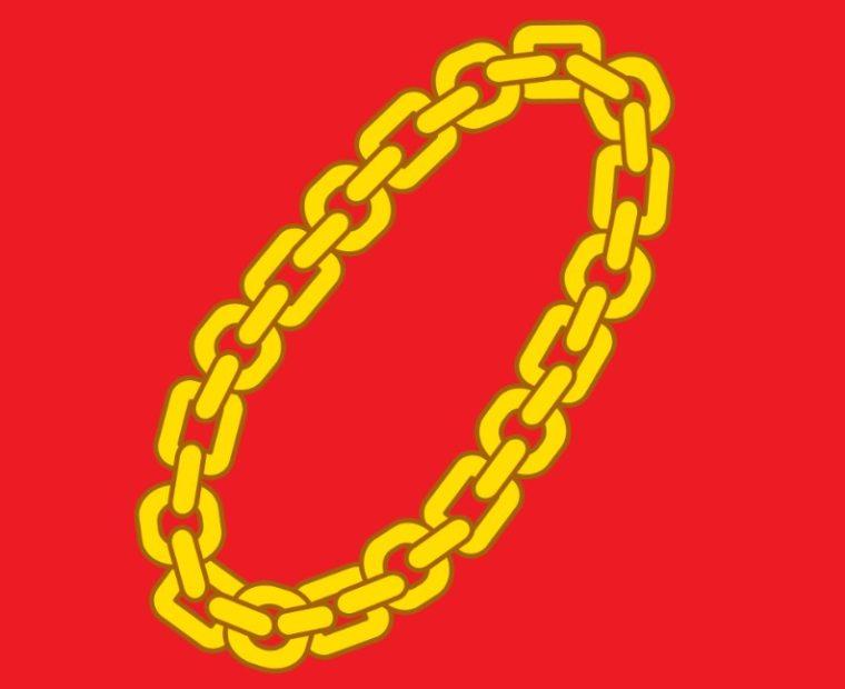 Simbol Rantai Emas