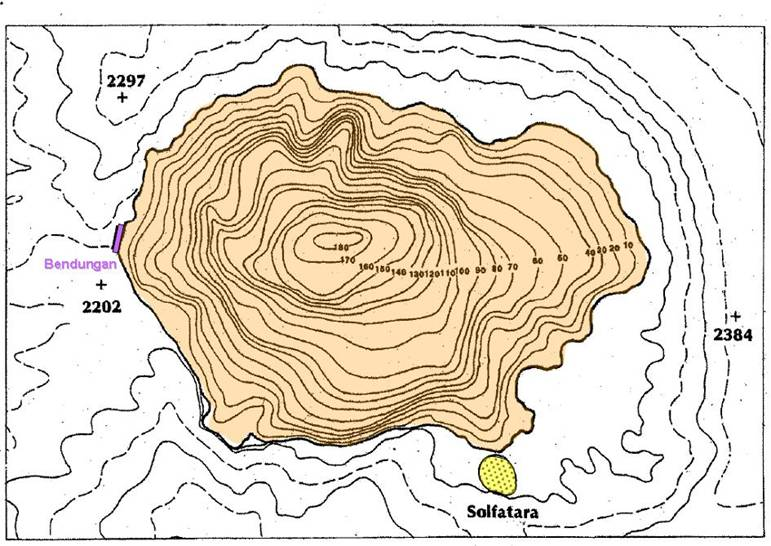 gambar peta topograf