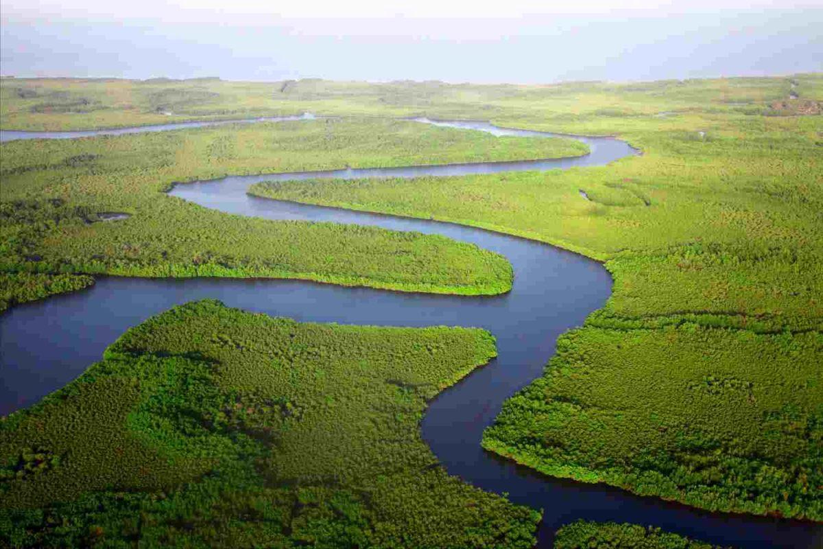 pola aliran sungai