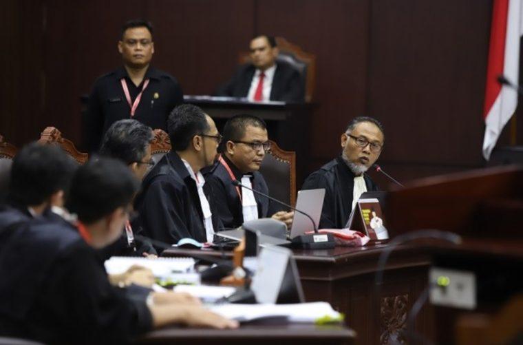Wewenang Mahkamah Konstitusi