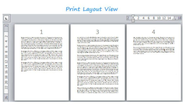 Cara ke-1 Menghapus Halaman pada Word Di Tengah dan Akhir Dokumen