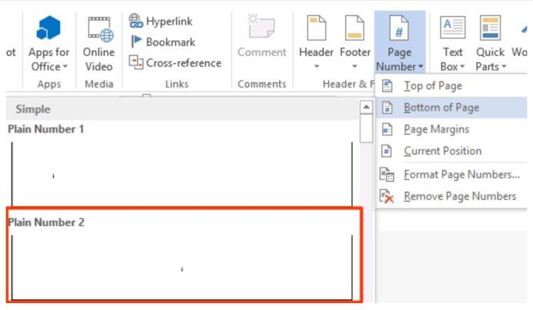 Cara ke-4 Mengatur Format Nomor Halaman Berbeda pada Satu Dokumen