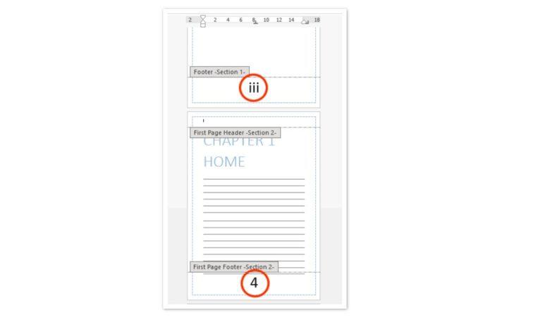Cara ke-5 Mengatur Format Nomor Halaman Berbeda pada Satu Dokumen