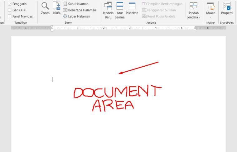 Document Area