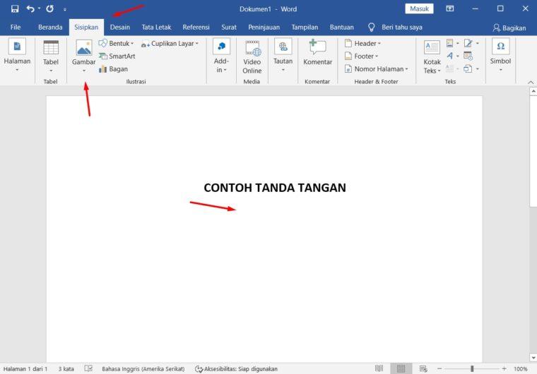 100% Works] Cara Membuat Tanda Tangan di Word 2010, 2013, 2016