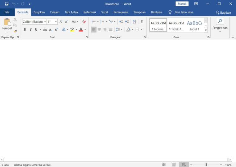 Cara ke-1 Mengirim Dokumen dalam Email di Word