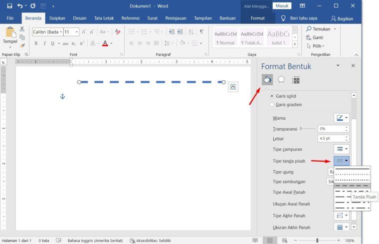 Cara ke-2 Menggunakan Dialog Format Auto Shape