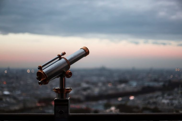 Contoh Membuat Teleskop Sederhana