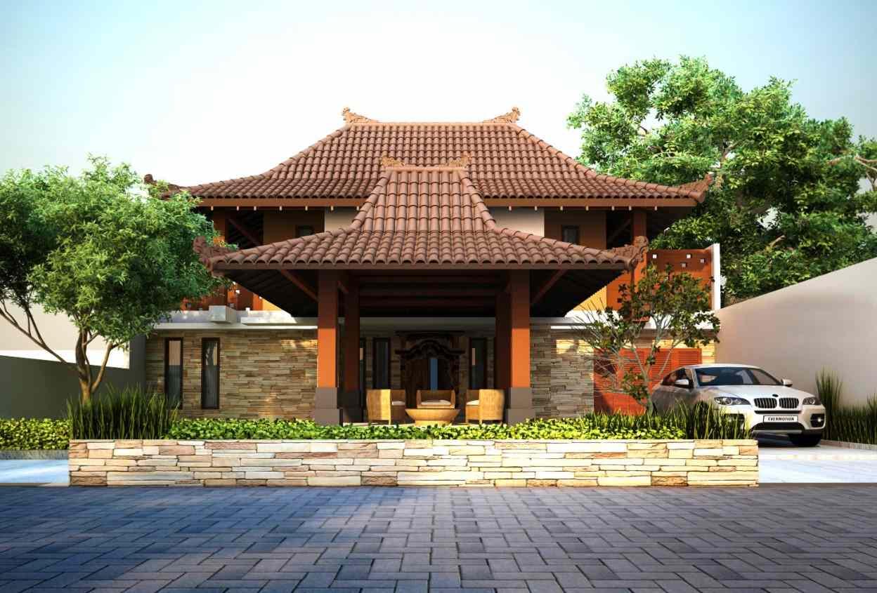 Gambar Thumbnail Rumah Adat Jawa Tengah