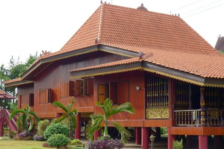 Gambar Thumbnail Rumah Adat Sumatera Selatan