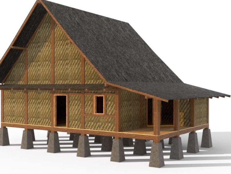 Arsitektur Rumah Adat Sulah Nyanda