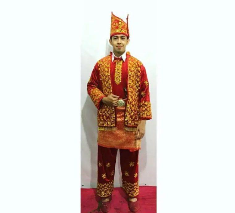 Baju Kurung Tanggung Pria Jambi