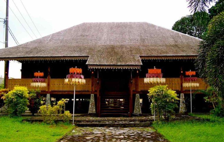 Rumah Adat Bangka Belitung Panggung