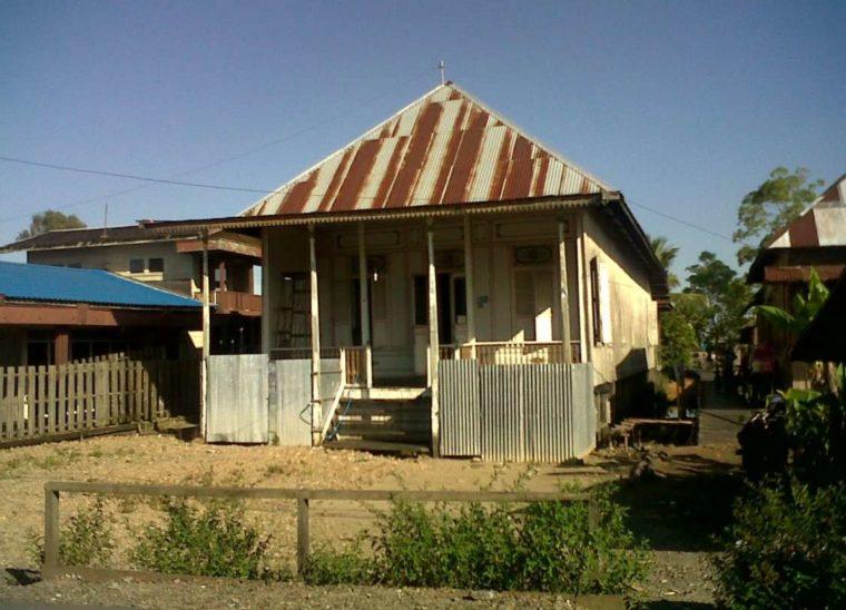 Rumah Adat Kalimantan Selatan Banjar Palimasan
